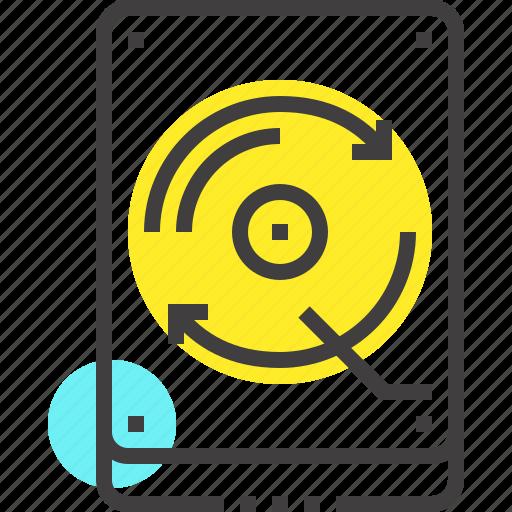 Backup, data, database, disk, drive, hard, storage icon - Download on Iconfinder