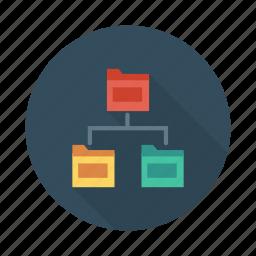 control, data, doc, document, folder, share, storage icon