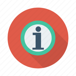 about, details, help, info, information, support, think icon