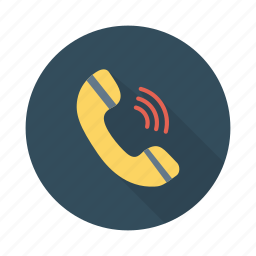 calling, contact, devices, mobile, phone, speak, telephone icon
