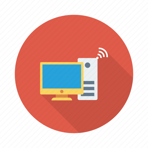 configuration, connection, monitor, online, process, settings, system icon