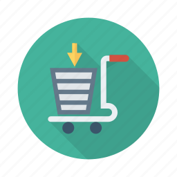 add, business, cart, checkout, ecommerce, sale, shopping icon