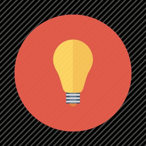 blub, bright, creative, education, idea, process, solution icon