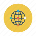 business, earth, global, international, network, work, world icon