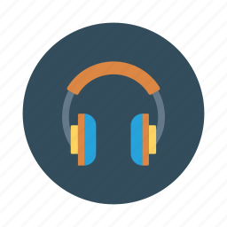 audio, earphone, headphone, multimedia, music, service, support icon