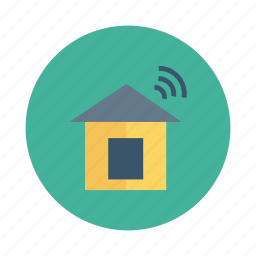building, city, default, estate, home, network, real icon