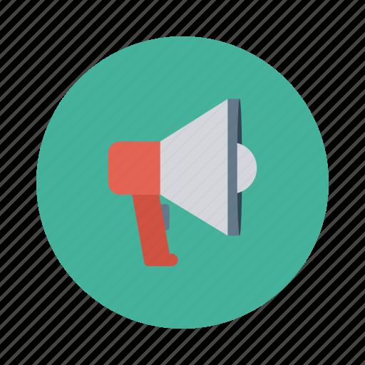 advertising, announcement, communication, horn, marketing, megaphone, promotion icon