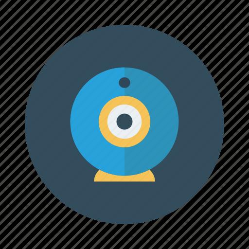 camera, digital, live, movie, multimedia, online, web icon