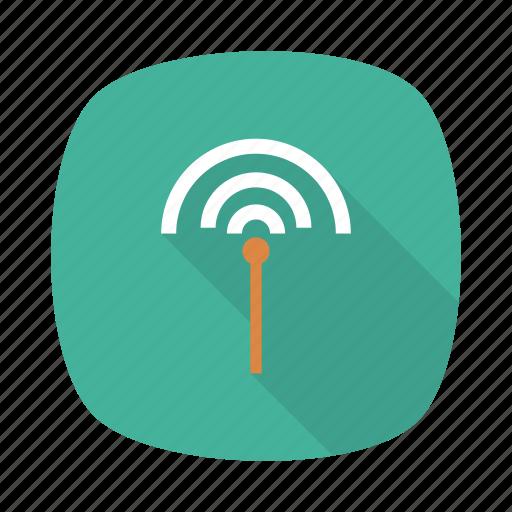 antenna, connection, danger, internet, network, signal, wireless icon