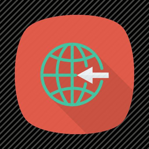 business, global, globe, international, link, network, work icon