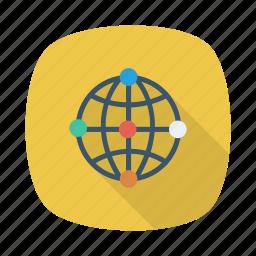 business, earth, global, international, network, work, world icon
