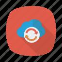 cloud, link, refresh, reload, storage, sync, update