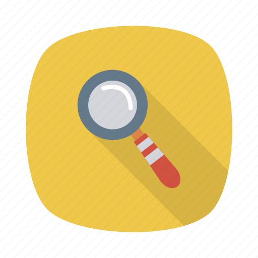 business, find, glass, magnify, magnifying, search, zoom icon