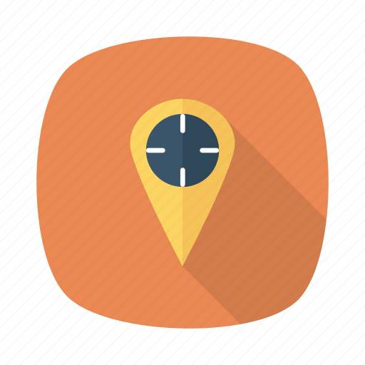distance, gps, location, map, marker, pin, tracking icon