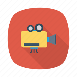 camera, media, music, play, player, record, video icon
