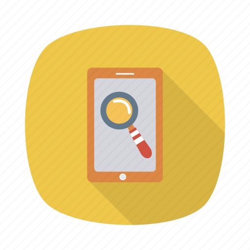 conversation, find, magnifying, mobile, phone, search, telephone icon