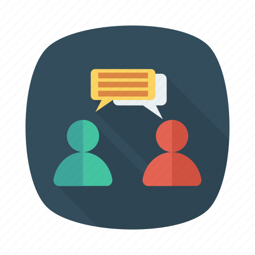 chat, communication, message, network, team, teamwork, users icon