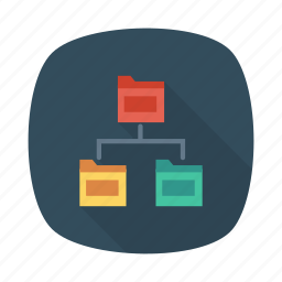 control, data, doc, document, folder, share, storage icon