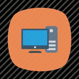 apple, computer, desktop, device, pc, server, store icon