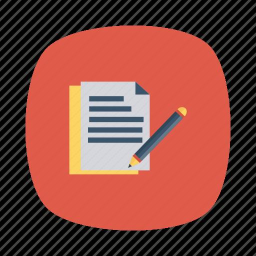 articles, blog, content, edit, management, media, news icon