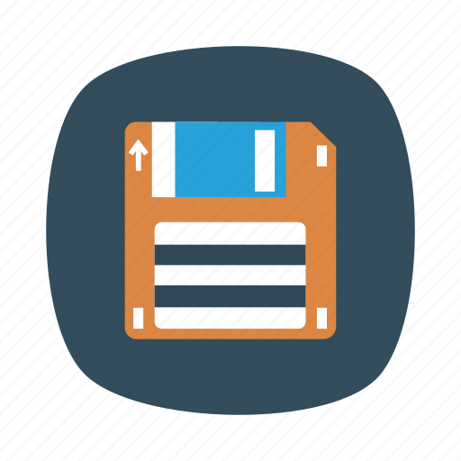 Cloud, data, disk, floppy, memory, save, storage icon - Download on Iconfinder