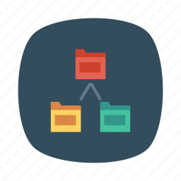communication, connect, document, files, folder, networking, storage icon