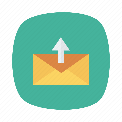 communication, contact, email, envelope, mail, message, send icon