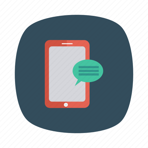 bubble, chat, conversation, phone, talk, technology, telephone icon