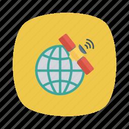 antena, dish, gps, satelite, science, space, technology icon