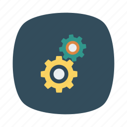 config, configuration, gear, setting, setup, system, tool icon