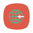 business, global, globe, international, link, network, work icon