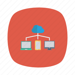 cloud, computing, devices, network, share, skyshare, storage icon