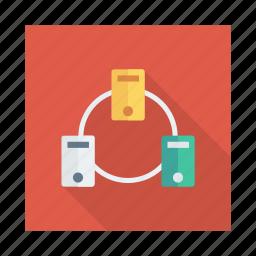 computer, database, hosting, network, pc, server, storage icon