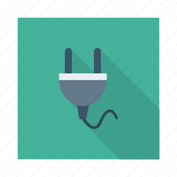 conector, electrical, electricity, extension, jack, plug, power icon