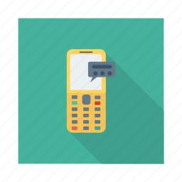 calling, devices, digital, message, mobile, phone, talk icon