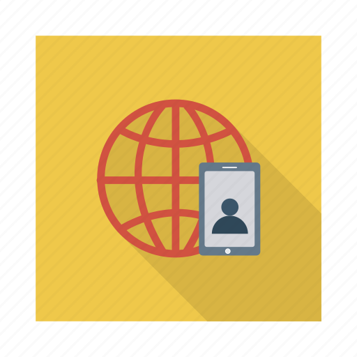 call, connection, global, mobile, online, phone, telephone icon