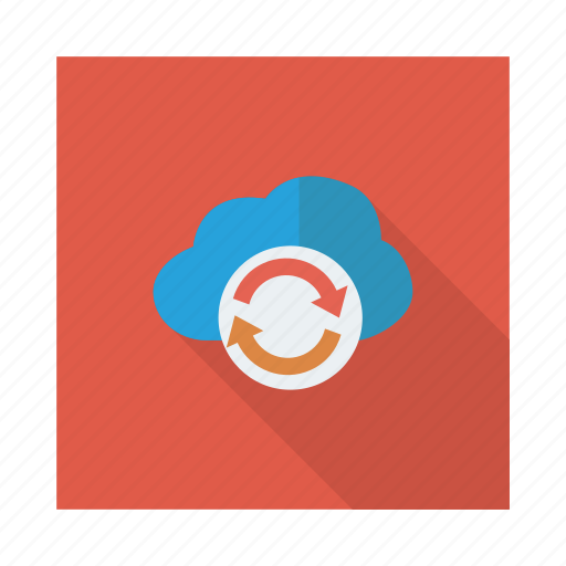 cloud, link, refresh, reload, storage, sync, update icon