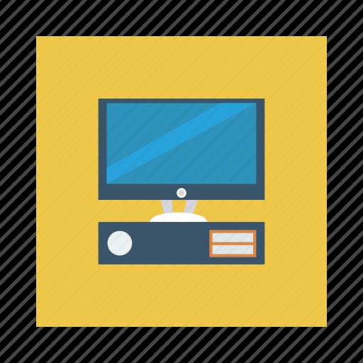 computer, desktop, device, pc, server, store, technology icon