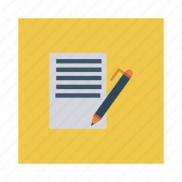 blog, business, content, editing, management, media, word icon