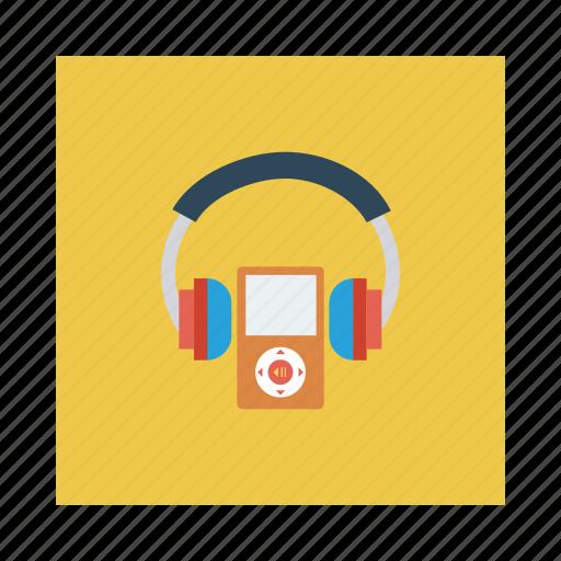 audio, earphone, headphone, headset, multimedia, music, service icon