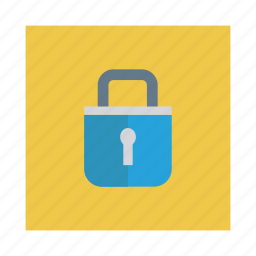 closed, lock, protection, safe, secure, security, trust icon