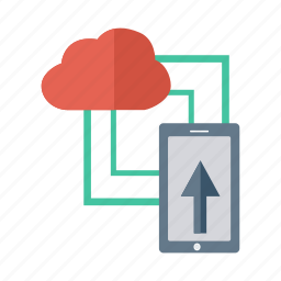cloud, contact, iphone, link, mobile, smartphone, weather icon