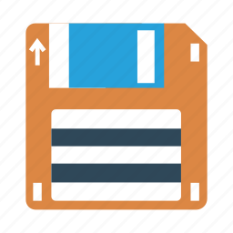 cloud, data, disk, floppy, memory, save, storage icon