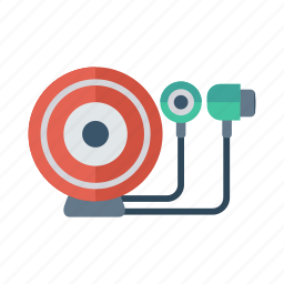 external, handfree, headset, media, music, song, sound icon