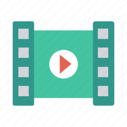 film, multimeda, music, play, player, record, video icon