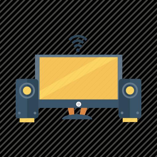 appletv, device, entertainment, monitor, technology, television, tv icon
