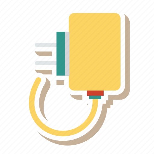battery, cable, charger, connect, connector, electronic, plug icon