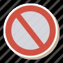 block, cancel, denied, document, error, files, reject