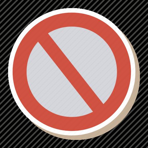 block, cancel, denied, document, error, files, reject icon