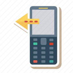 call, device, mobile, network, phone, sms, technology icon